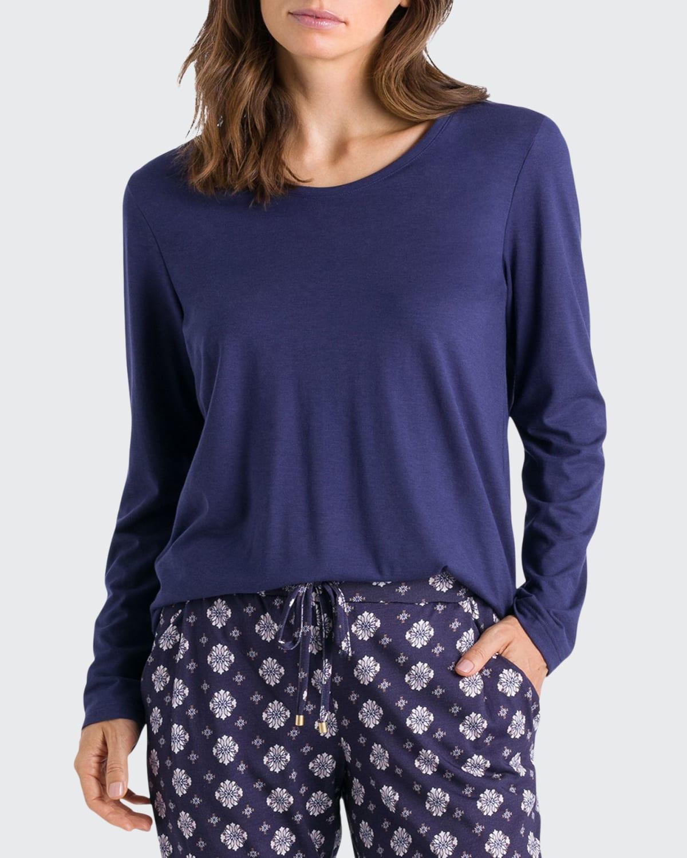 Sleep & Lounge Long-Sleeve T-Shirt