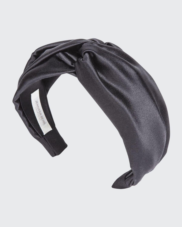 Twisted Silk Satin Headband