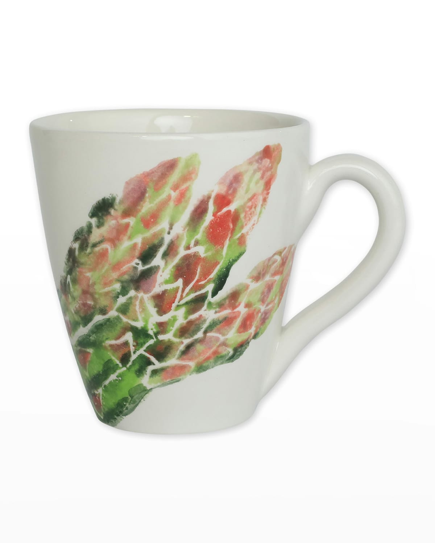 Vietri Spring Vegetables Asparagus Mug