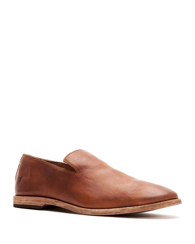 Men's Chris Venetian Vintage Leather Loafers