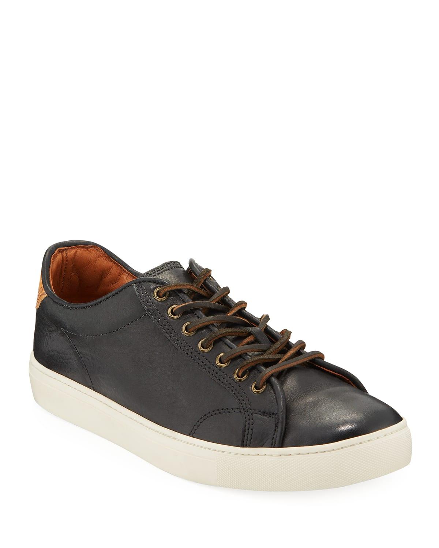 Men's Walker Leather Low-top Sneakers