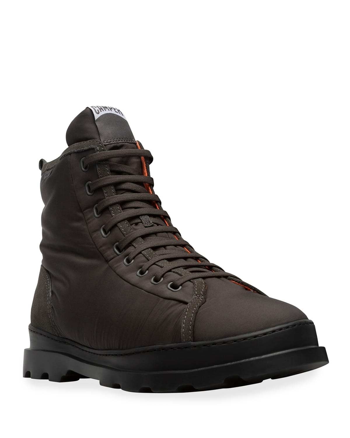 Men's Brutus Recycled Fabric %26 Suede Lace-Up Boots