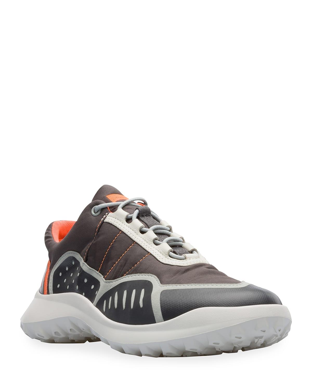Men's CRCLR Textile & Nubuck Chunky Sneakers
