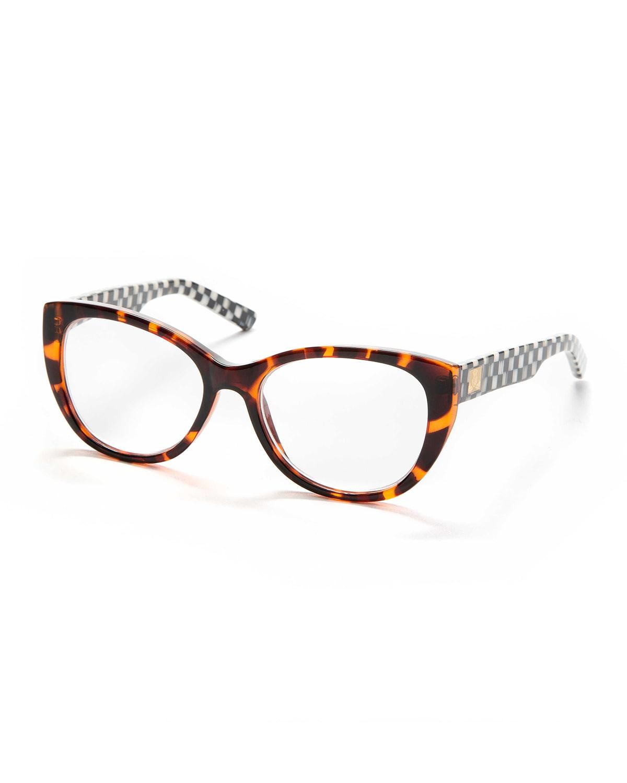 Grace Plastic Cat-Eye Reading Glasses