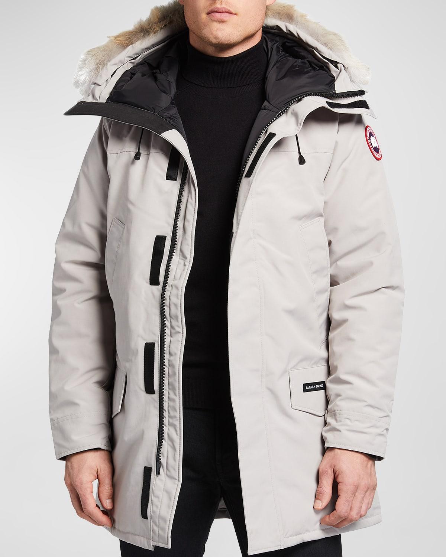 Men's Langford Arctic-Tech Parka Jacket with Fur Hood