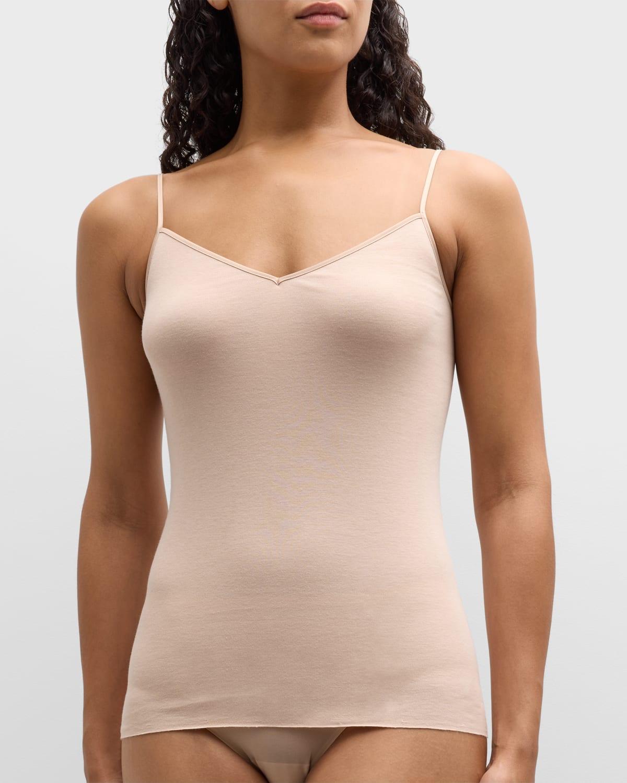 Seamless Cotton V-Neck Camisole