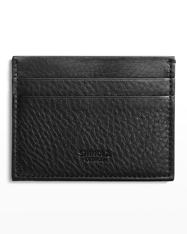 Men's Five-Pocket Leather Card Case