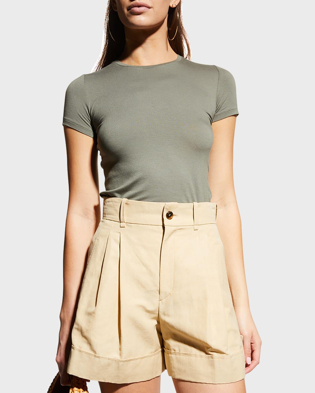 Soft Touch Short-Sleeve Crewneck T-Shirt