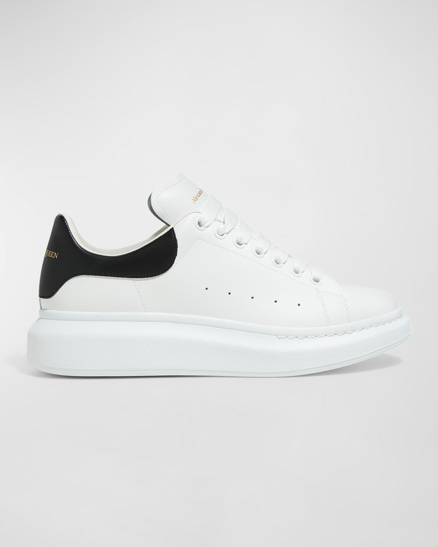 Men's Bicolor Leather Low-Top Sneakers