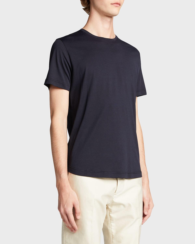 Men's Silk %26 Cotton Jersey T-Shirt