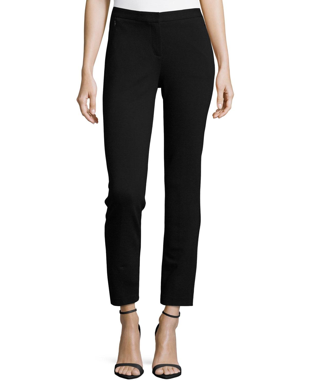Alexandra Double-Knit Pants