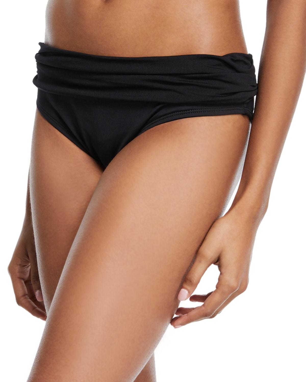 Deluxe Island Goddess Reversible Hipster Swim Bikini Bottom