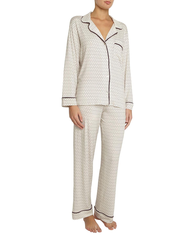 Sleep Chic Printed Pajama Set