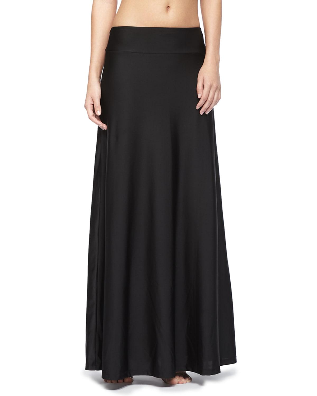 UPF 50 Long Skirt Coverup