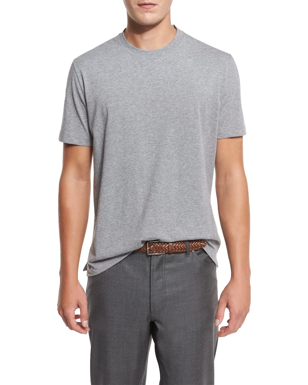 Marled Crewneck T-Shirt