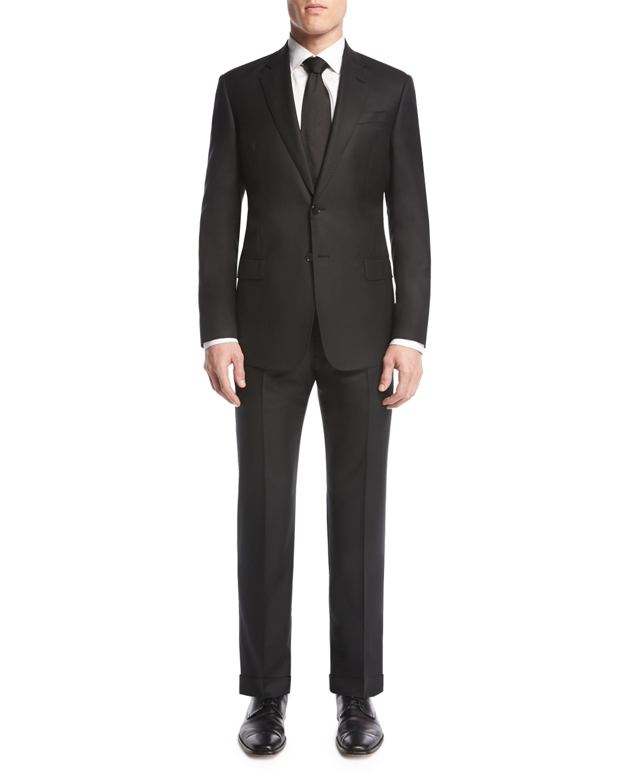 Soft Basic Two-Piece Suit