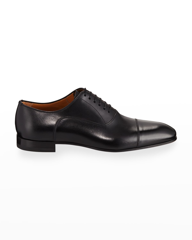 Greggo Men's Lace-Up Leather Dress Shoes