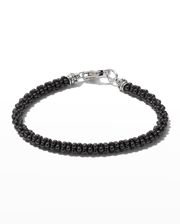 Ceramic Black Caviar Beaded Bracelet