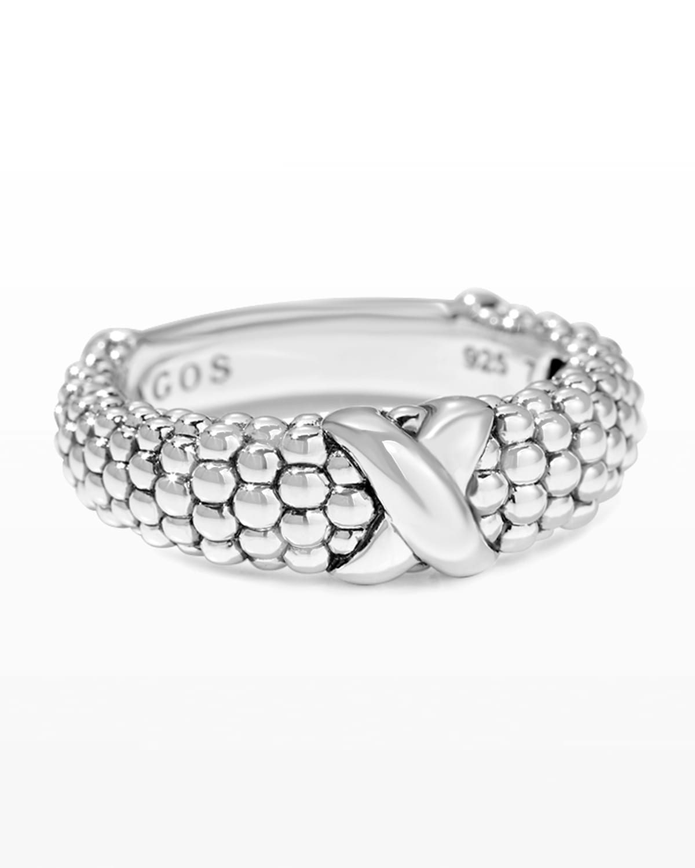 Signature Caviar Band Ring