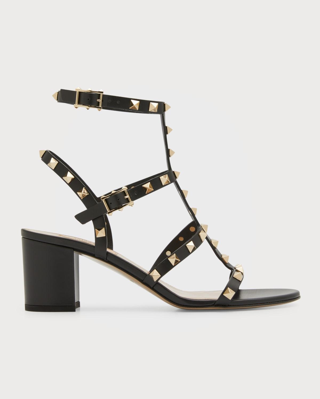 Rockstud Leather 60mm City Sandals