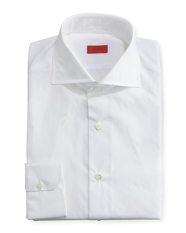 Slim Solid Dress Shirt