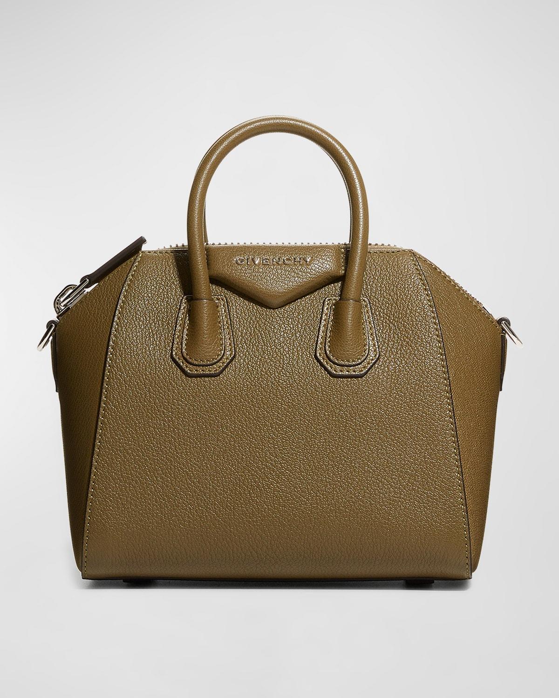 Antigona Mini Grained Leather Bag
