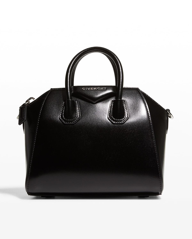 Antigona Mini Box Calfskin Satchel Bag