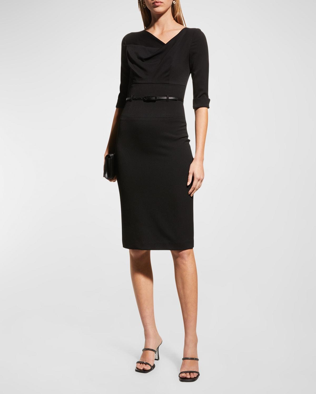 Jackie 3/4-Sleeve Sheath Dress