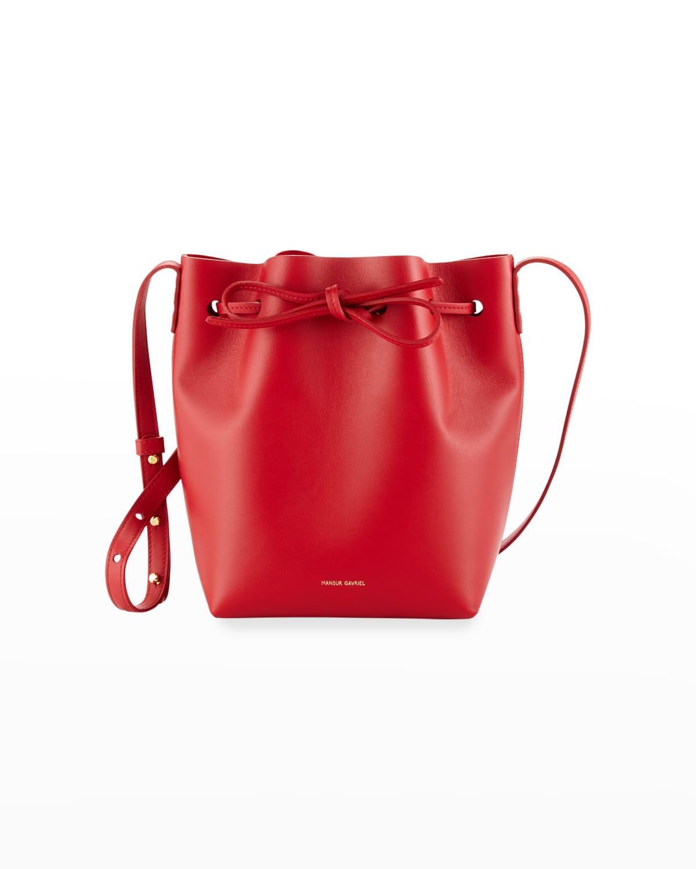 Mini Mini Calf Leather Bucket Bag
