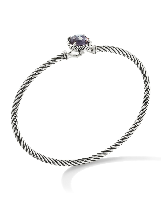 Chatelaine Bracelet with Semiprecious Stone