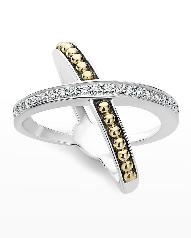 KSL Diamond X Ring