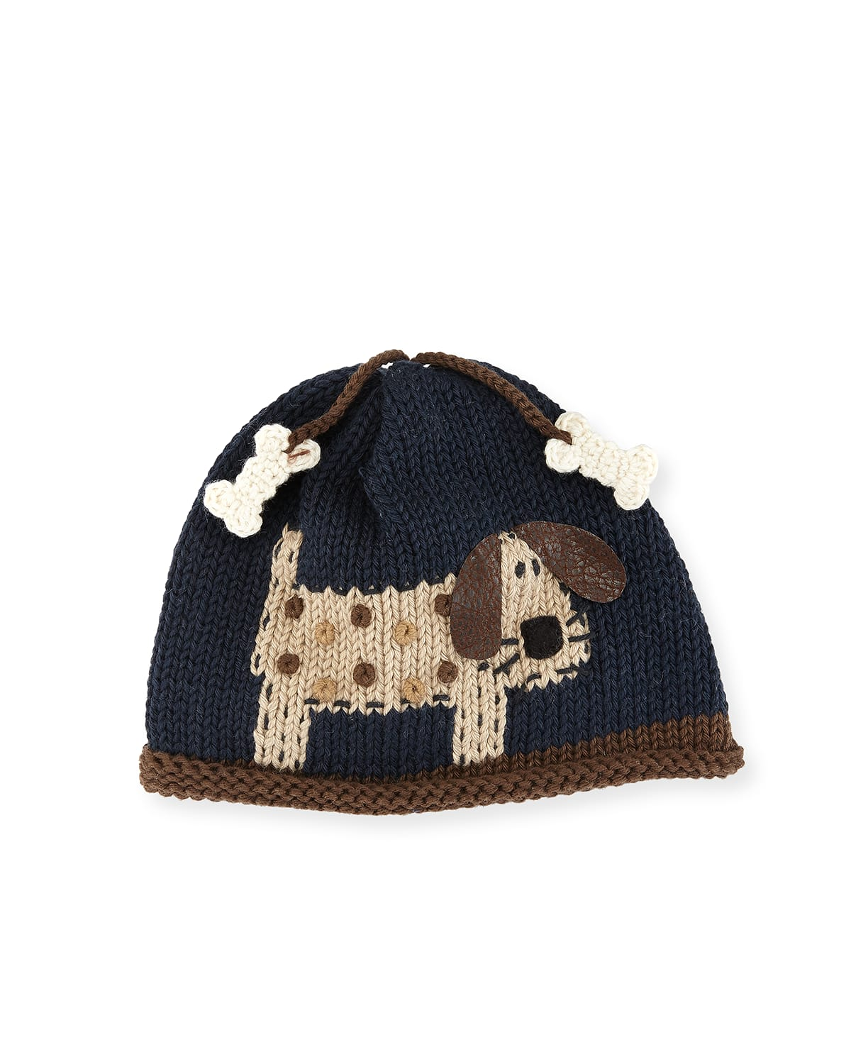 Woof Woof Knit Baby Hat