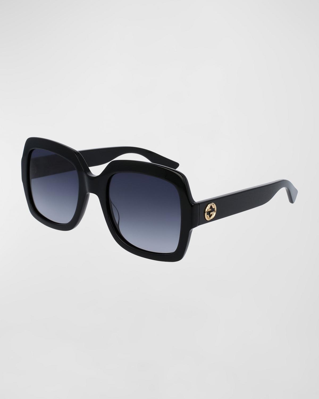 Classic Oversized Rectangular Sunglasses