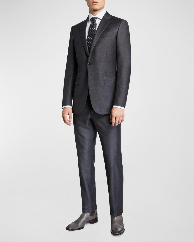 Men's Trofeo Milano Two-Piece Wool Suit