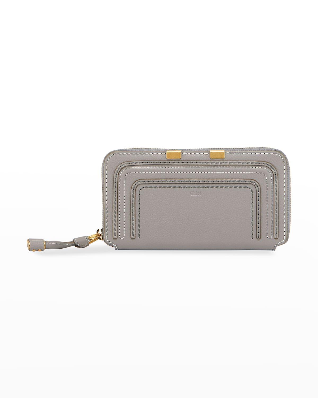 Marcie Lambskin Zip Wallet