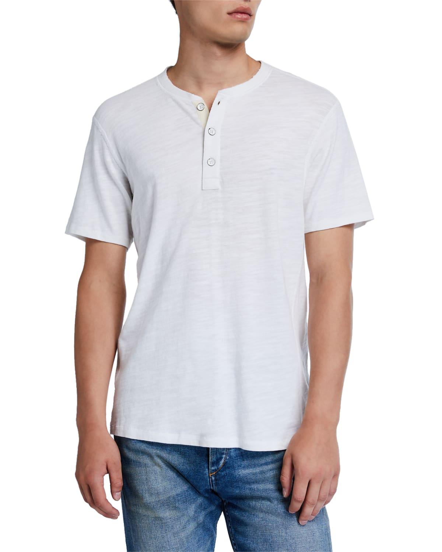 Men's Standard Issue Short-Sleeve Henley T-Shirt