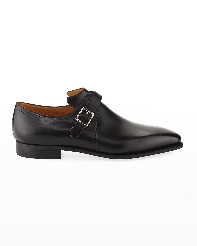 Arca Calf Leather Monk Shoe