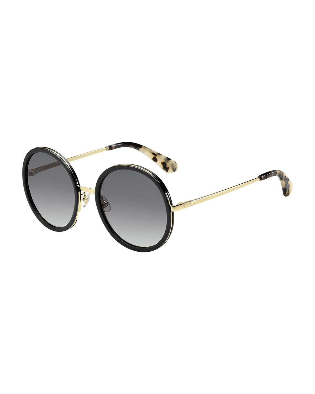 lamonica round sunglasses