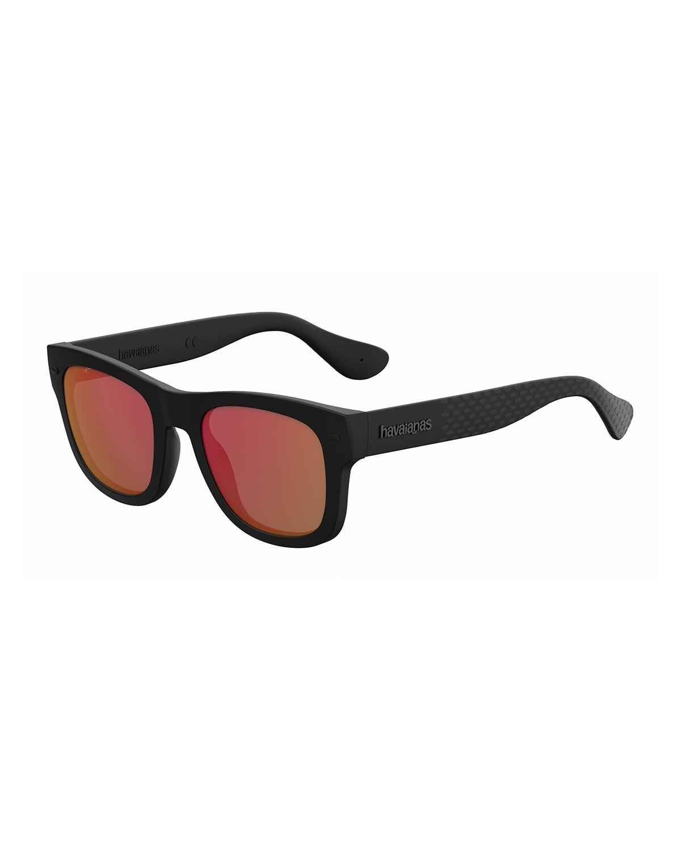 Rubber Square Sunglasses