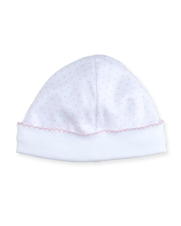 Polka-Dot Print Baby Hat