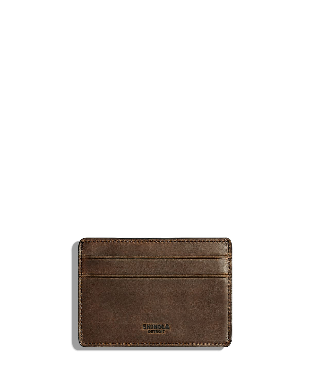 Men's Six-Pocket Leather Card Case