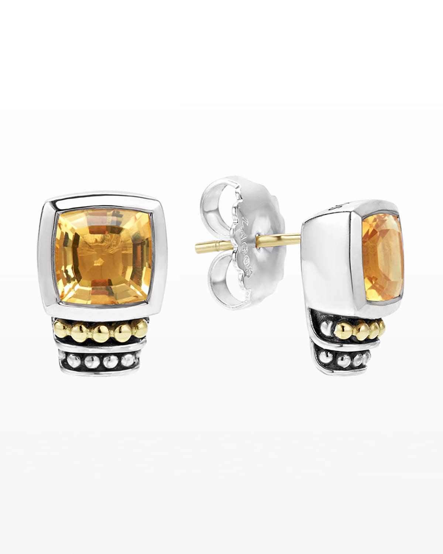 7mm Caviar Color Stud Earrings