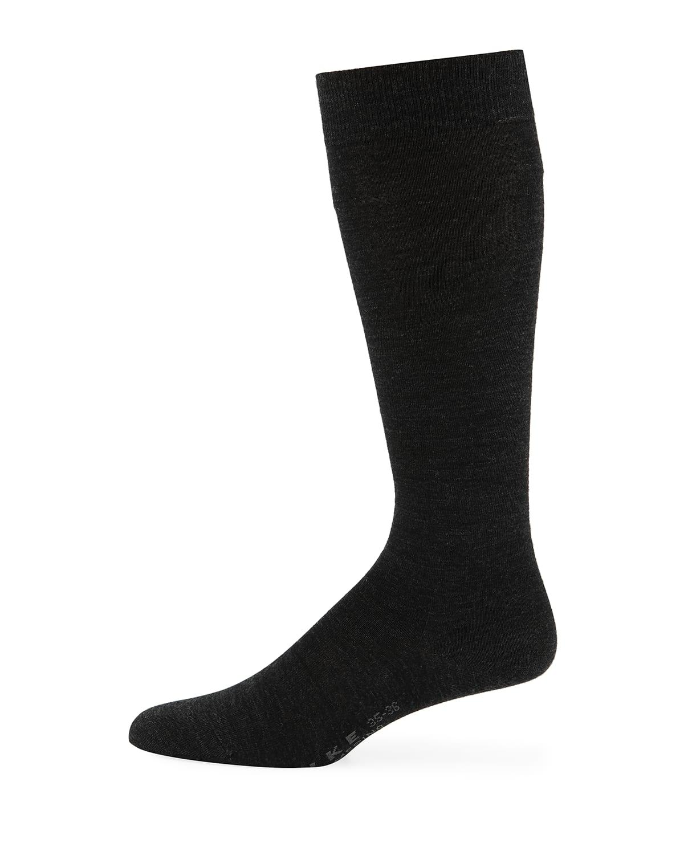 Wool-Blend Knee-High Socks