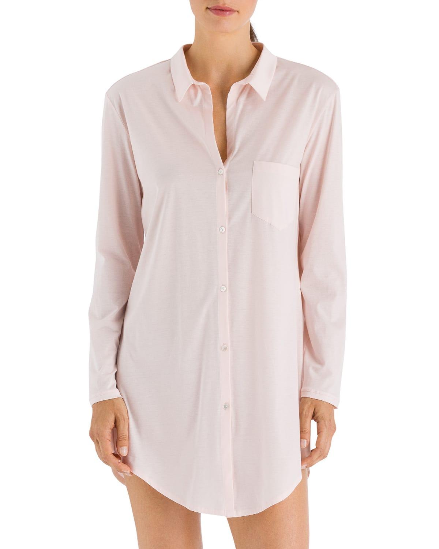Cotton Deluxe Boyfriend Sleepshirt