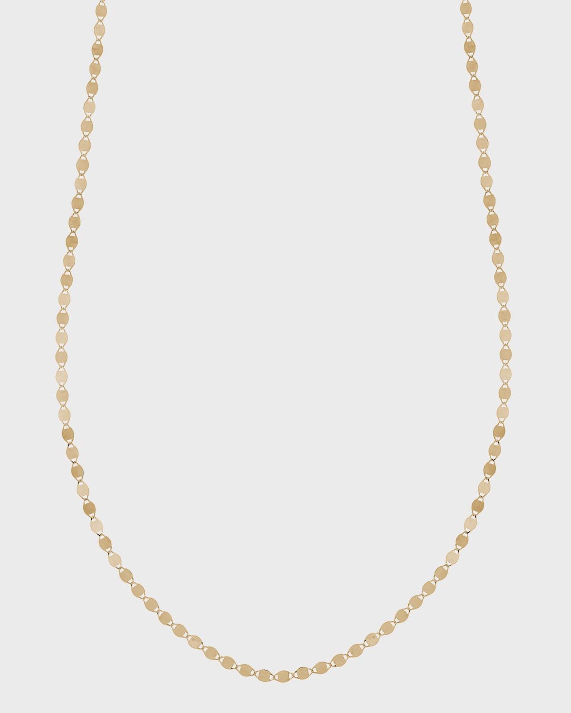 Petite Nude Chain Choker Necklace
