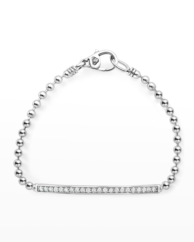 Caviar Spark Diamond Ball-Chain Bracelet