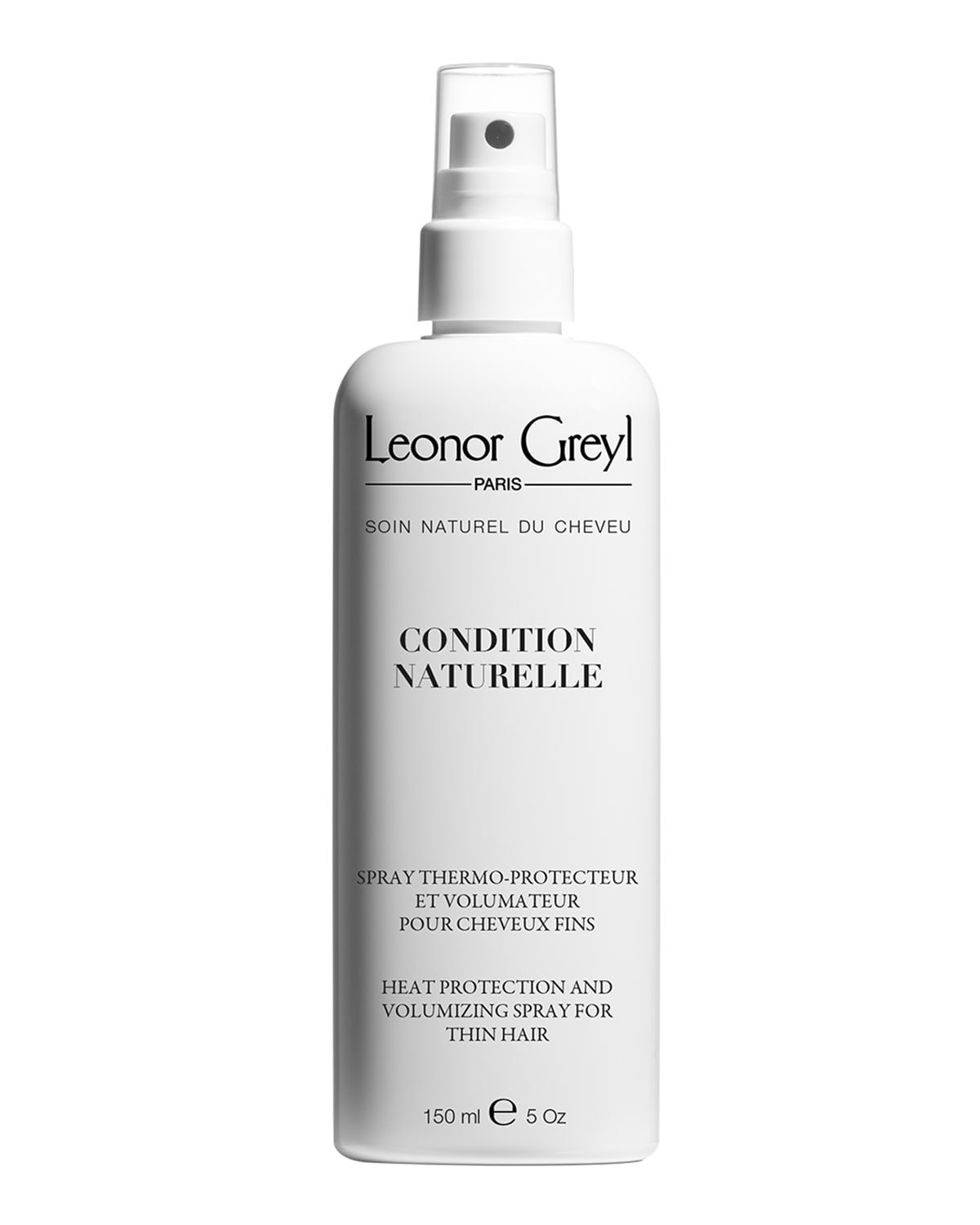 Condition Naturelle (Heat Protecting Volumizing Styling Spray for Thin Hair)