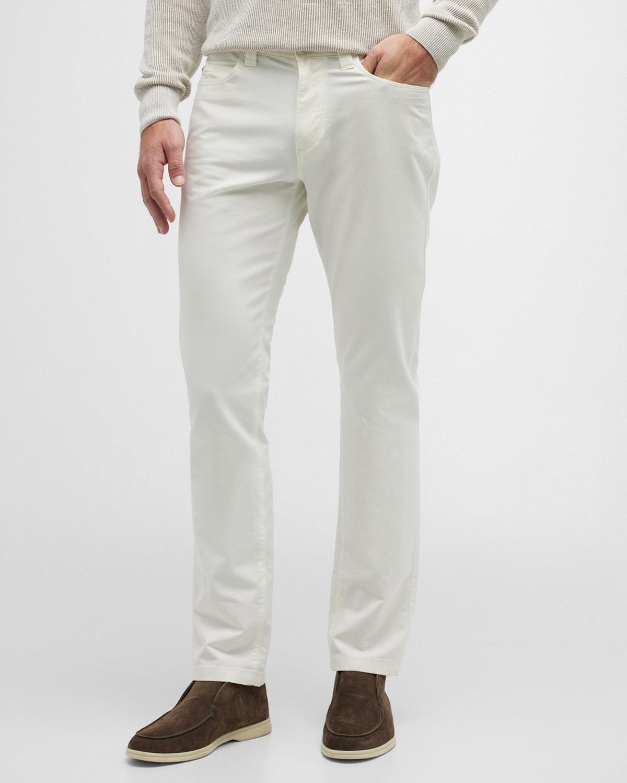 Men's 5-Pocket Stretch-Cotton Pants