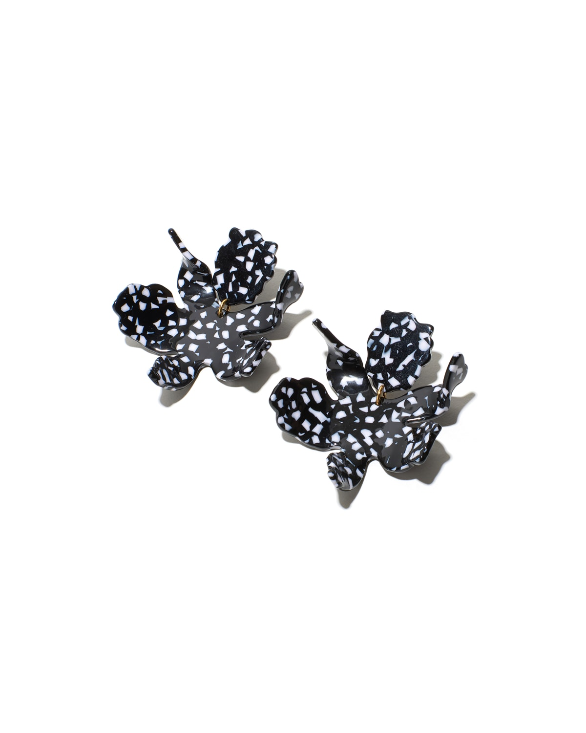 Paper Lily Statement Clip-On Earrings
