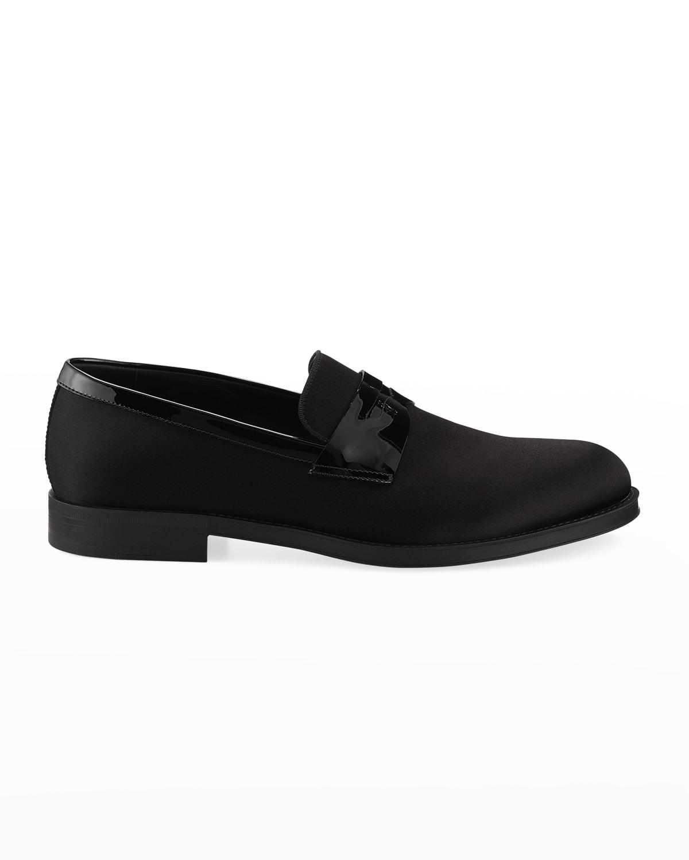 Men's Satin/Patent Dress Loafers